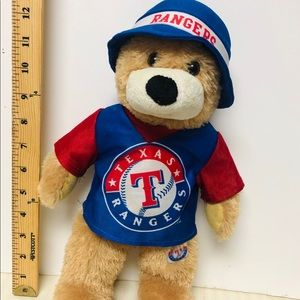 Texas Rangers Bear Plush